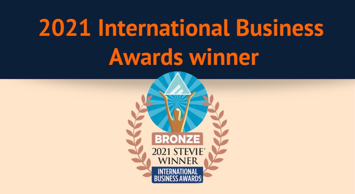 Logo of IBA stevie bronze award